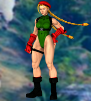 Cammy White(P1) Street Fighter V by XKammyX