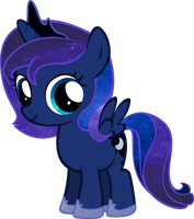 Luna Filly - Starry by BC-Programming