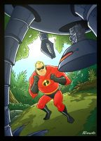 Mr. Incredible by Ferigato