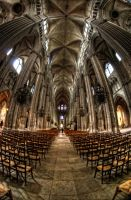 cathedrale bourges inside by Tong4ri