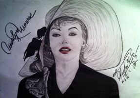 Marilyn Monroe by George-B-Art