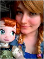 Baby Anna Cosplay - Frozen by MAJCosplay