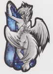 The Fabric of Time and Space (Trade with Halierae) by Planthearth4me