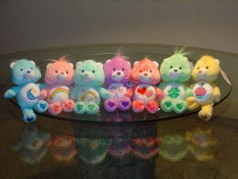 Care Bears Collection by ScorpionChild