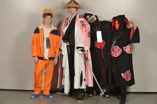 bleach and naruto cosplay by digbigdaddy2