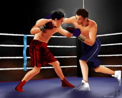 Boxing by kagome94stefi