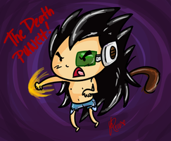 Raditz death punch of death by Budgies