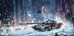 Armored Warfare Xmas by Sinto-risky