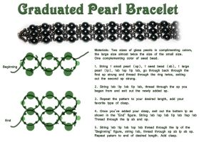 Graduated Peal Bracelet - Free Tutorail by Thy-Darkest-Hour