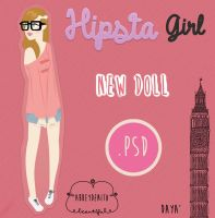 Hipsta Girl Doll by AbbeyDenith