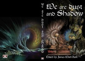 cover for We are dust and shadow JWK publishing by taisteng