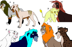 lion adopts by wolvesanddogs23