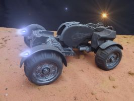 Mars Manned Rover 1 by skphile