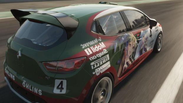 Project CARS Renault Clio Kancolle Livery 3 by blazeLimit