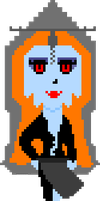 Midna Pixel True Form by WhizzPop