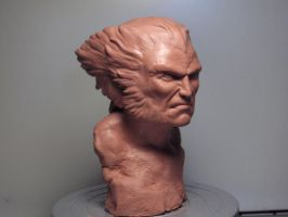 Wolverine Classic Bust by Larsanders77