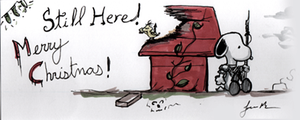 Post Apocalyptic Snoopy Christmas by IronWarrior777
