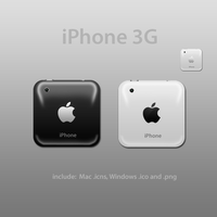 iPhone 3G by CASHMichi