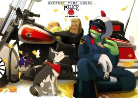 Police raph by SchNe11