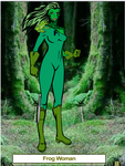 Frog Woman by funnykinz1997