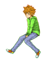 Tsuna for Dikku by MousyM