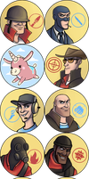 TF2 Badges by AtomicRay
