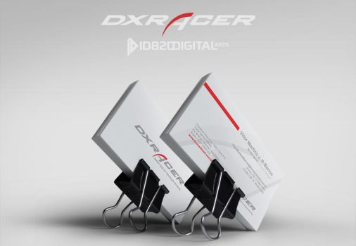 DXRacer visitor card by id820
