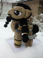 Khal Drogo Pony Plush by Caleighs-World