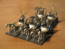 Tomb Kings Chariots by gowsk