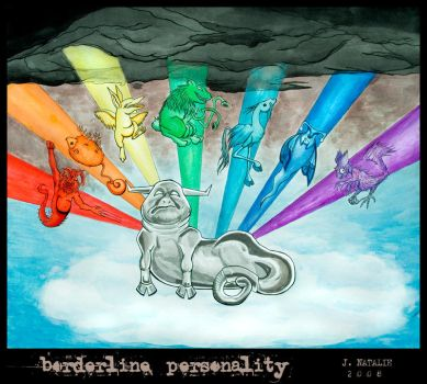 Borderline Personality by TheRedBamboo
