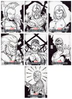 Marvel Beginnings 2 Sketch Cards 3 by tonyperna