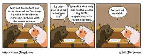 Cup of Interview by JoeGPcom