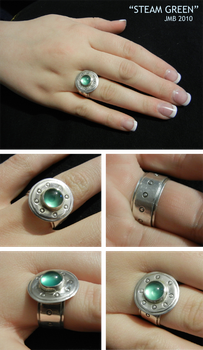 Steam Green Ring by Jb-612