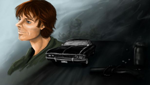 SPN Fanfic Illustration by kian