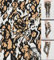 The Painted Wild Dog by The-SixthLeafClover