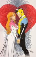 Mark and Eve wedding commission by RyanOttley