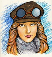 Aviator Sandra by LaraInPink