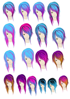 Some Hair Colour Ideas by WelcomeToMyFuneral