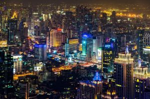 Bangkok Night by Rawangtak