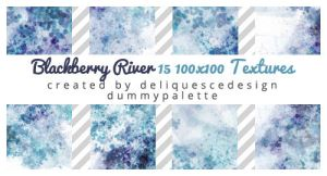 Blackberry River: 15 Icon Textures by deliquescedesign