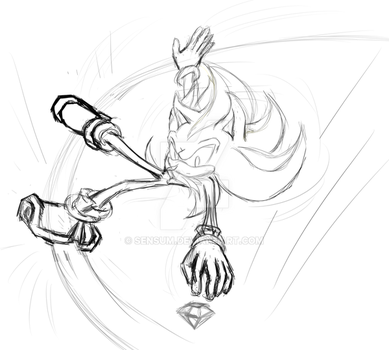 Shadow in action WIP by sensum