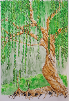 Willow Tree by MereMagicDesigns