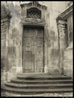 Roman-Catholic church door by DarckBMW
