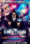 PSD Emotion Flyer Template by retinathemes