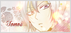 Signature Banner: Tomoe by bakaprincess85