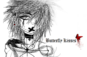 Witches Child, True Self, Butterfly Kisses by Monochrome-Lines