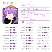 OC card: Teru by GiteRu