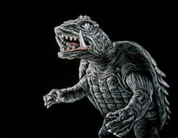 Gamera by BruceWhite