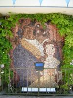 Mosaic - Beauty and the Beast by disneyland-stock