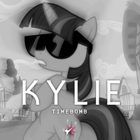 Kylie Minogue - Timebomb (Twilight Sparkle) by AdrianImpalaMata